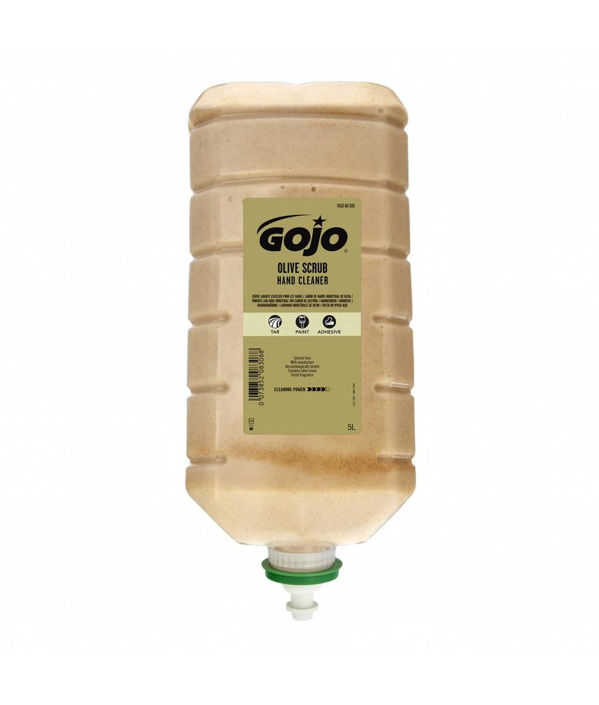 Euro Products Gojo olive scrub handcleaner - 5000ml