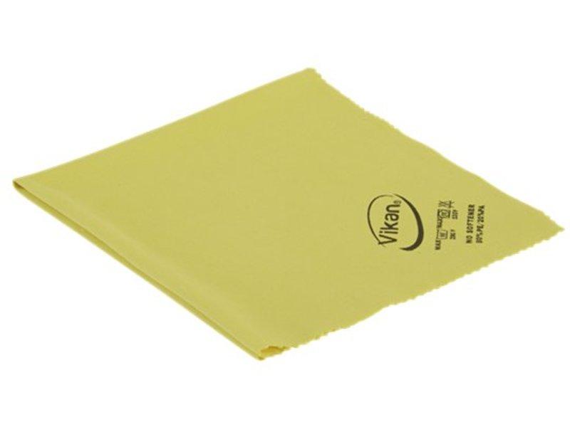 Vikan Vikan ErgoClean Lustre doek, microvezel, 40x40cm, geel