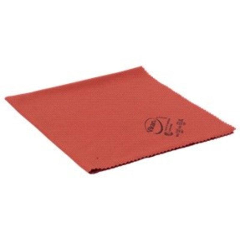 Vikan ErgoClean lustre doek, microvezel, 40x40cm, rood