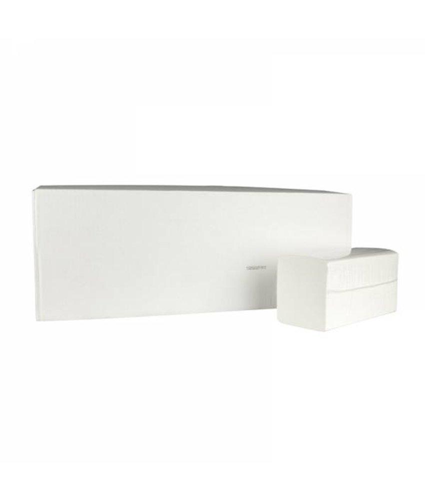 Vouwhanddoekjes Smart-Z, 2-laags, cellulose wit, 3150 stuks