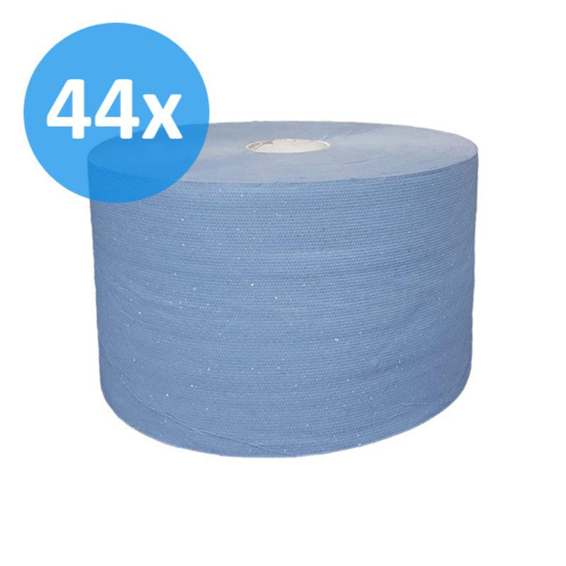 PALLET Uierpapier, 1000 vel. 22cm, 3-laags, tissue blauw, verlijmd