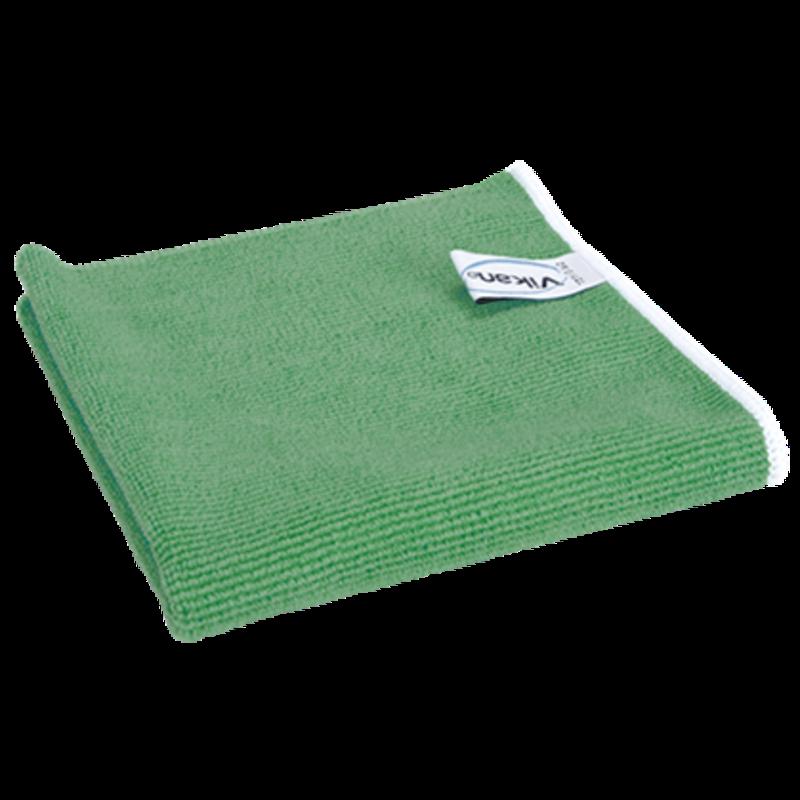 Vikan ErgoClean original doek, microvezel, 32x32cm, groen