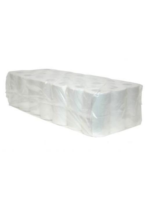 Toiletpapier Traditioneel, 400 vel, 2-laags, cellulose wit, 40 rollen