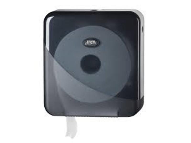 Eigen merk Dispenser Toiletpapier jumbo maxi, zwart