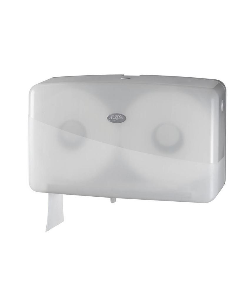 Dispenser Toiletpapier jumbo mini, wit