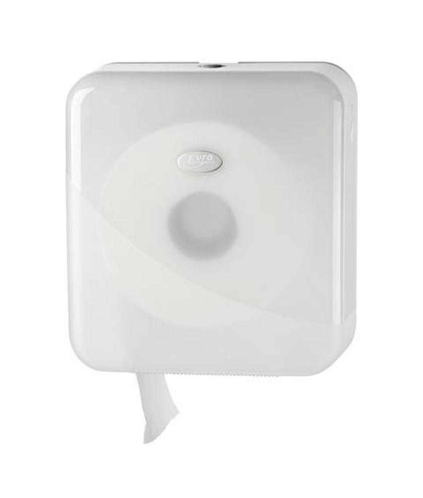 Dispenser Toiletpapier jumbo maxi, wit