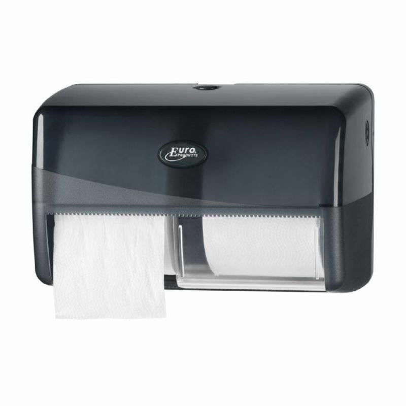 Dispenser Toiletrol standaard DUO, zwart
