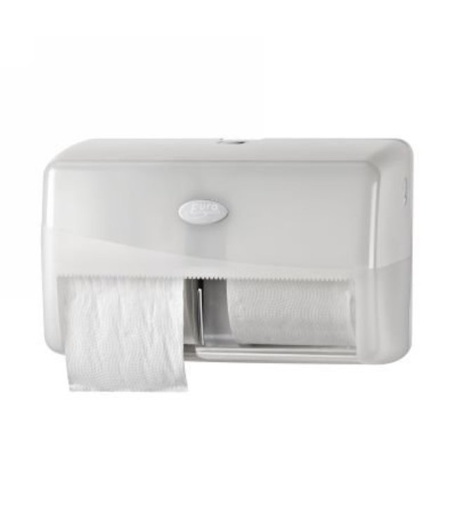 Eigen merk Dispenser Toiletrol standaard DUO, wit