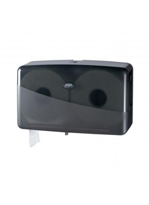 Dispenser Toiletpapier jumbo mini, zwart