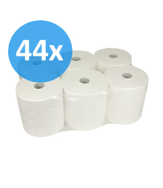 Eigen merk PALLET Handdoekrol Control Matic, 20cm, 2-laags, cellulose