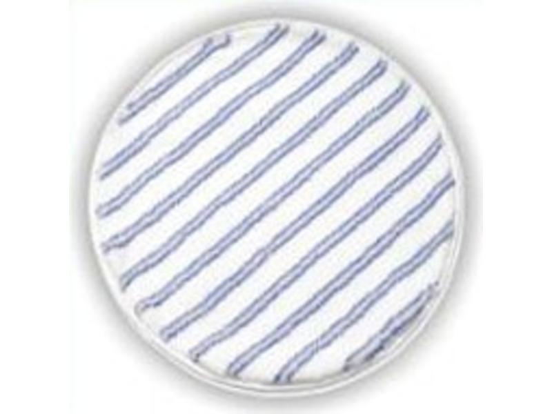 Arcora Rondmop SOFT 43cm, 2-zijdig, BLAUW-WIT