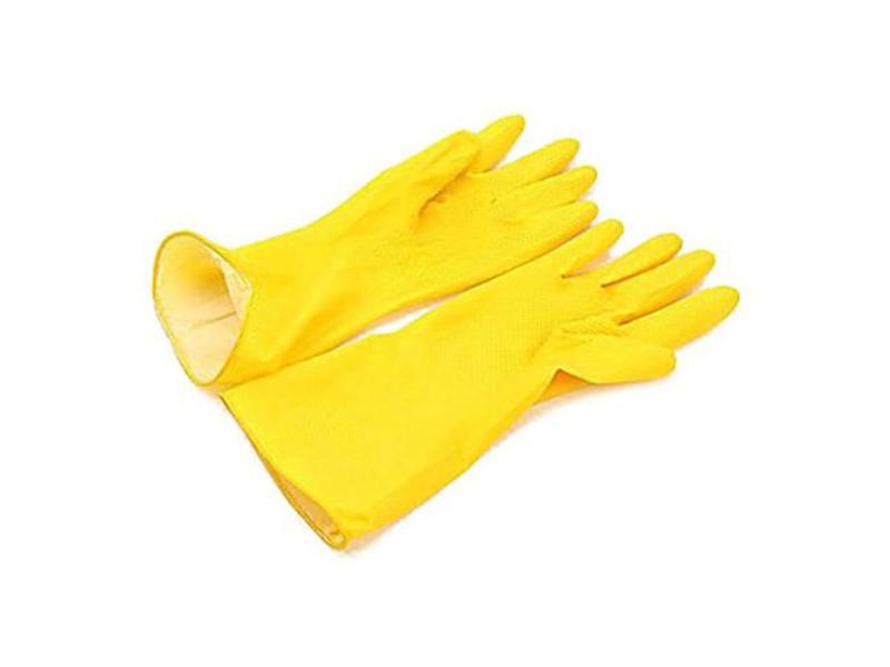 Arcora Handschoen latex, geel, maat S