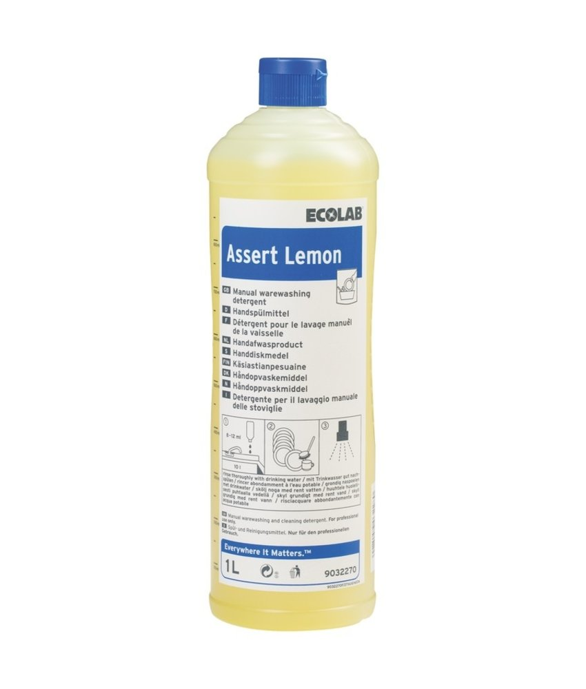 Ecolab Assert Lemon 6x1liter