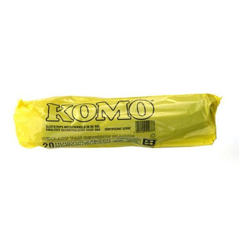 Huisvuilniszakken Kivo Komo 60x80cm, T50