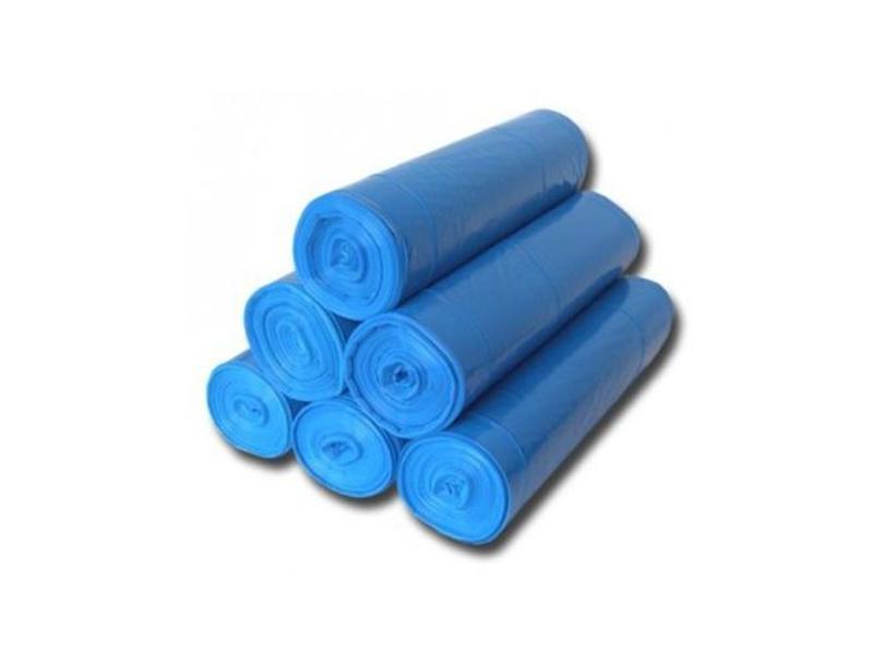 Eigen merk Afvalzakken 70x110cm, T25, Blauw (20 rollen)
