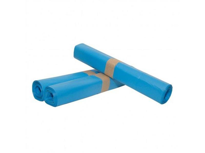 Eigen merk Afvalzakken 90x110cm, T70, Blauw (10 rollen)
