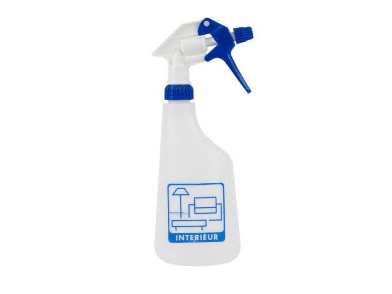 Eigen merk Sprayflacon 650ml interieur - blauw