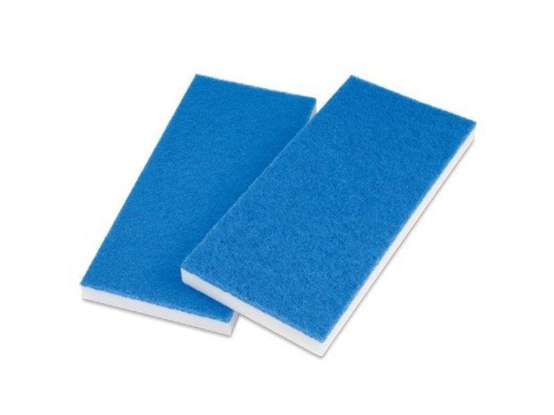 Wecoline Melamine doodlebugpad wit-blauw