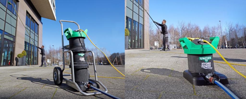 Unger HydroPower Ultra, streeploos glas reinigen met zuiver water!
