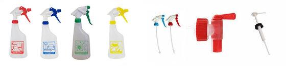 Sprayflacons en hulpmaterialen