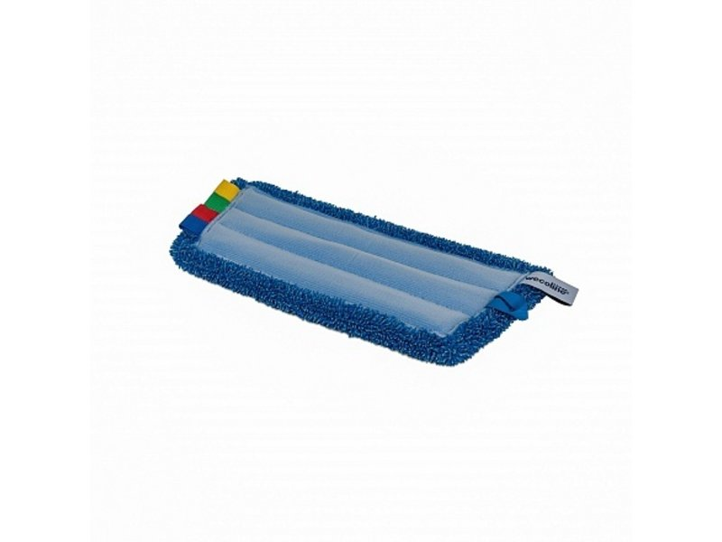 Wecoline Wecoline Microvezel vlakmop (klamvochtig) 23 cm blauw