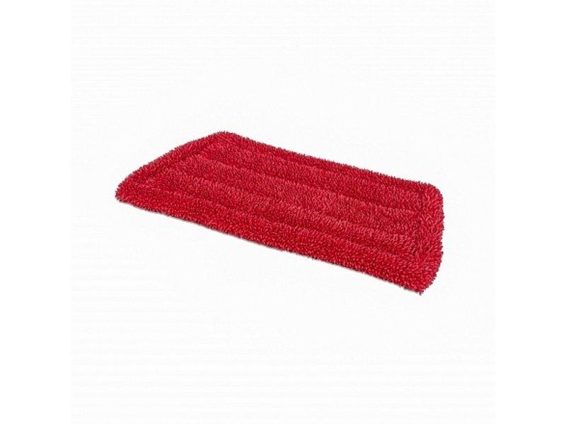 Wecoline Wecoline Microvezel vlakmop (klamvochtig) 23 cm rood