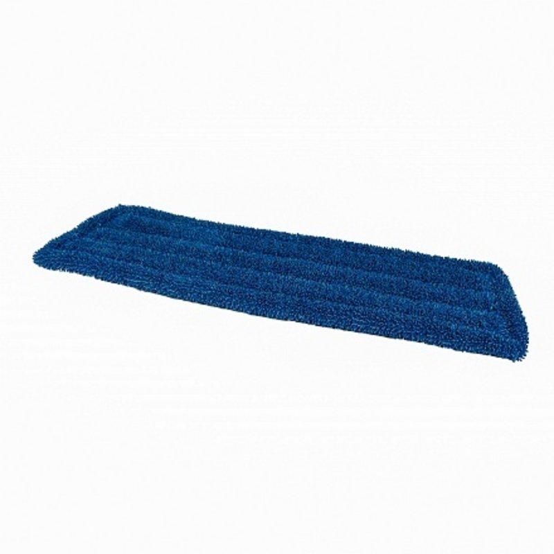 Microvezel vlakmop (klamvochtig) 40 cm blauw