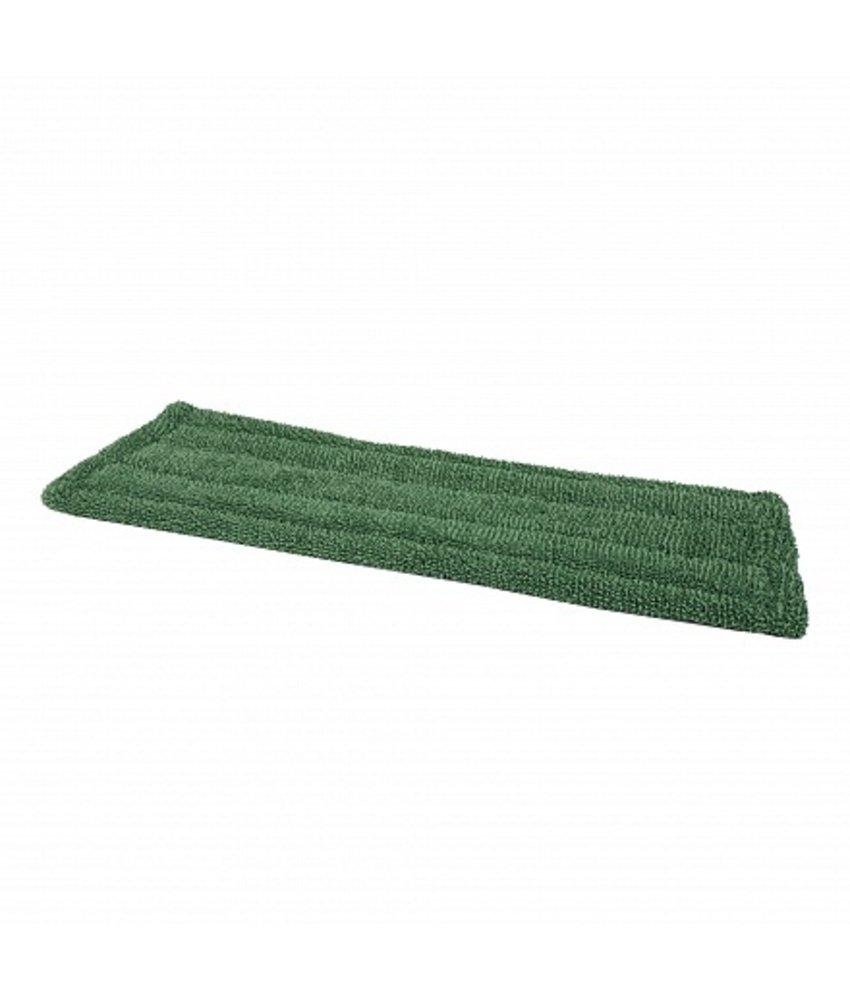 Microvezel vlakmop (klamvochtig) 40 cm groen