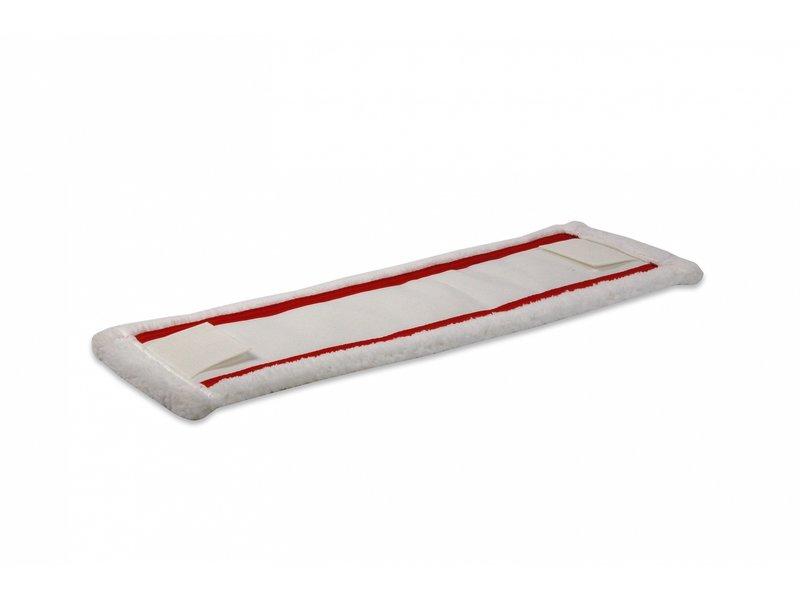 Wecoline Wecoline Speedclean vlakmop microvezel 40 cm rood met flaps