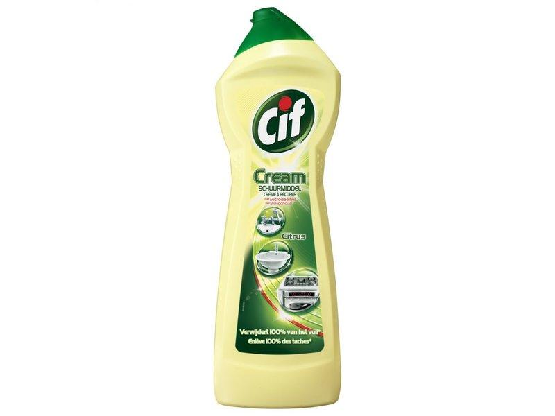 Johnson Diversey Cif Cream Schuurmiddel Citroen 750 ml