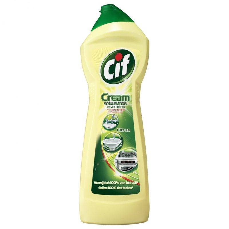 Cif Cream Schuurmiddel Citroen 750 ml