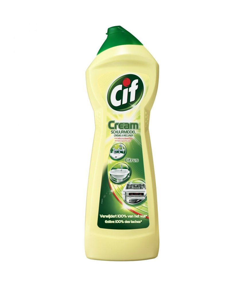 Cif Cream Schuurmiddel Citroen 750 ml