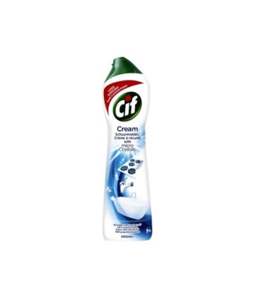 Cif Cream Schuurmiddel Normaal 750 ml
