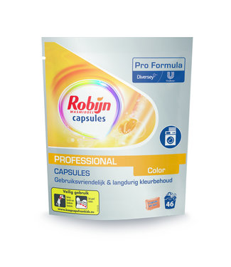 Johnson Diversey Robijn Pro Formula Wasmiddel Capsules Color / 46 capsules