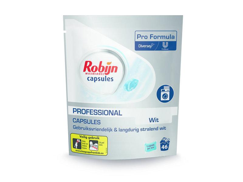 Johnson Diversey Robijn Pro Formula Wasmiddel Capsules White / 46 capsules
