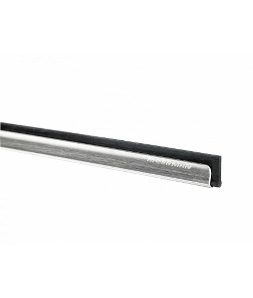 Moerman RVS Liniaal met rubber 35cm