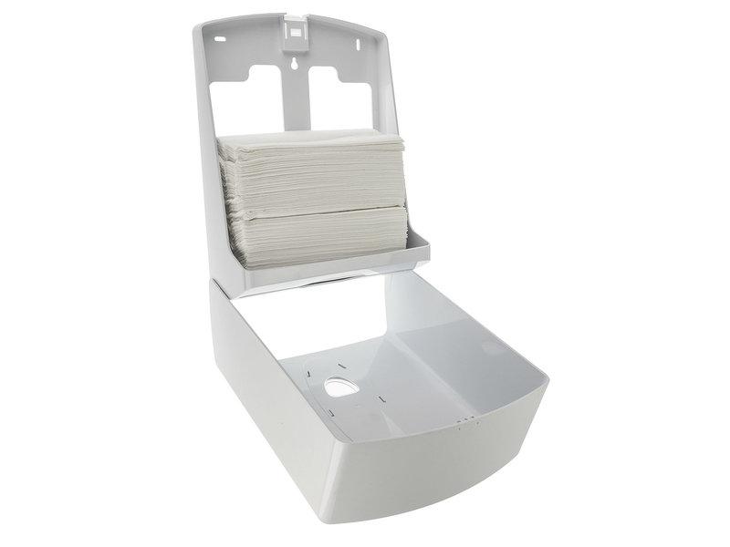 PlastiQline 2020 Handdoekdispenser midi kunststof wit