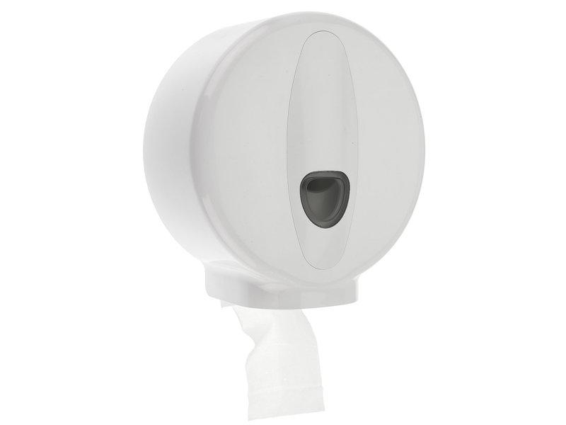PlastiQline 2020 Jumboroldispenser mini kunststof wit
