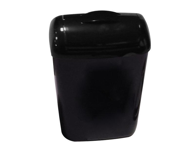 PlastiQline 2020 Hygiënebak 8 liter kunststof zwart