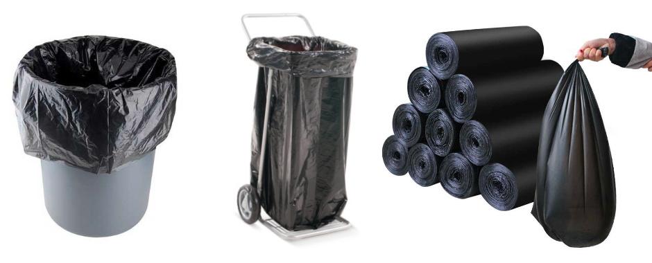 De stevigheid en dikte van afvalzakken