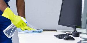 Desinfecteren van kantoren en gebouwen