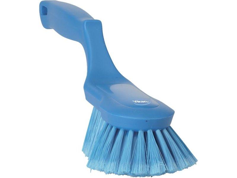 Vikan Vikan Ergonomische handborstel polyester vezels, zacht, 330x105x110mm blauw
