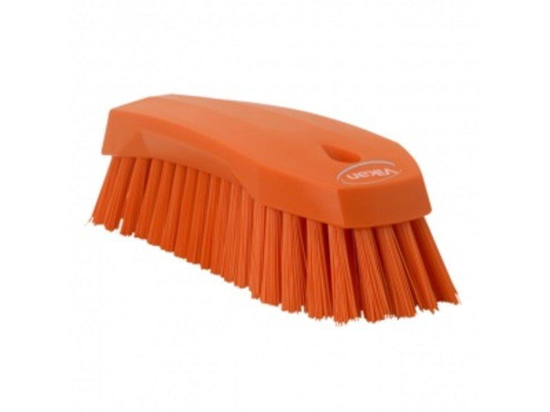 Vikan Vikan Grote werkborstel polyester vezels, hard 200x70x60mm oranje