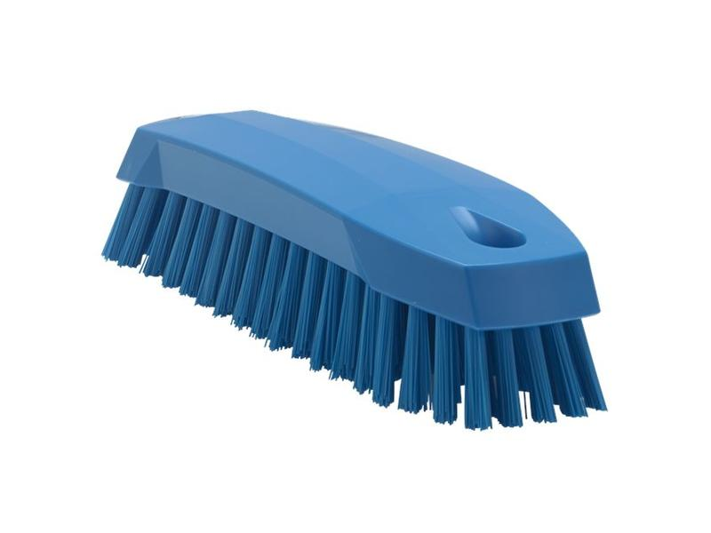 Vikan Vikan Kleine werkborstel polyester vezels, medium 165x50x45mm blauw
