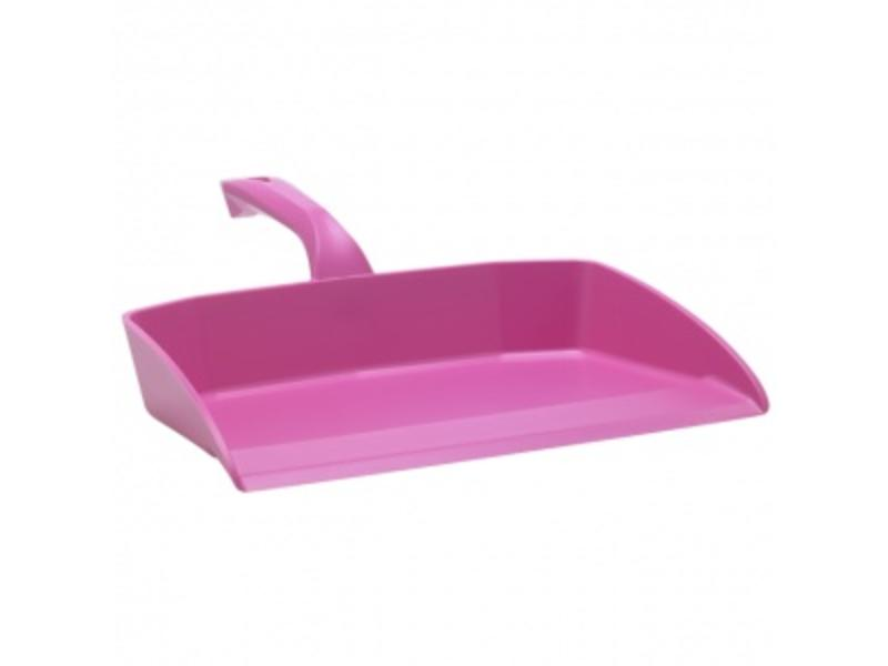 Vikan Vikan Ergonomisch stofblik, 330x295x100mm, roze
