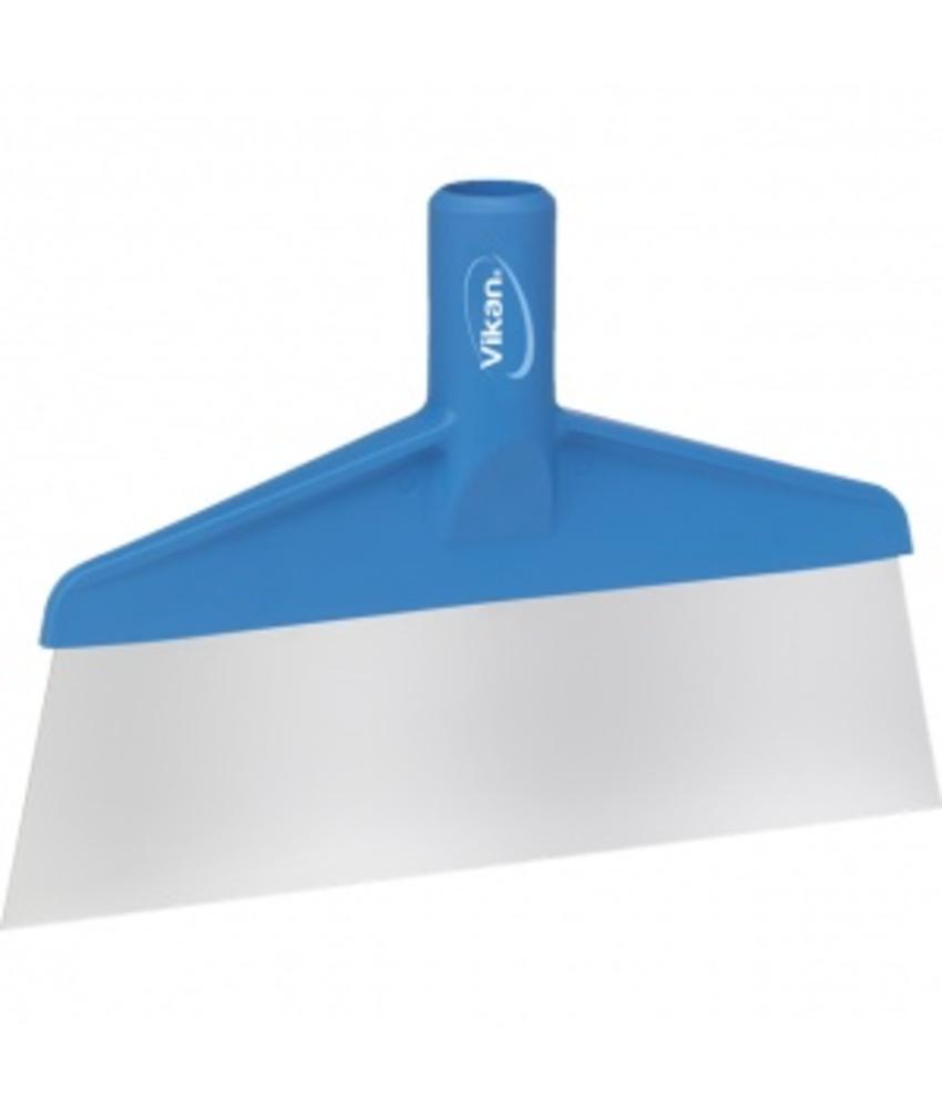 Vikan Vloer- of tafelschraper, 260x30x175mm, blauw