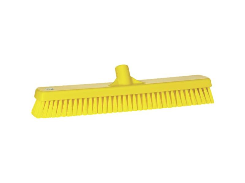 Vikan Vikan, Vloerschrobber hard, breed, 470x115x80mm, geel