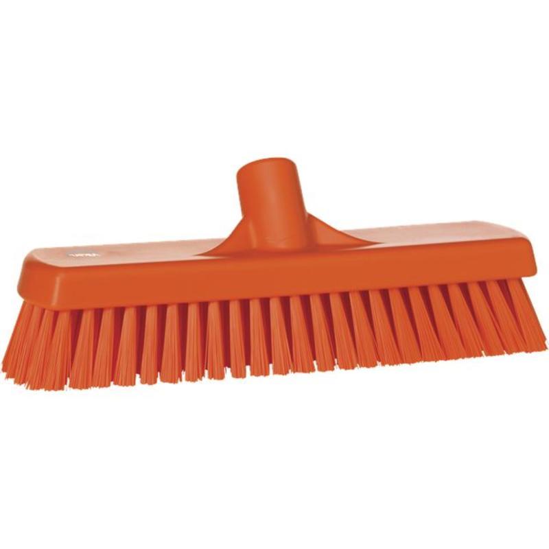 Vikan, Vloerschrobber hard, 305x110x85mm, oranje