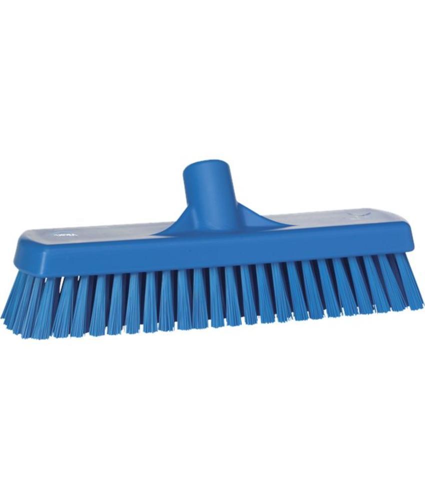 Vikan, Vloerschrobber hard, 305x110x85mm, blauw