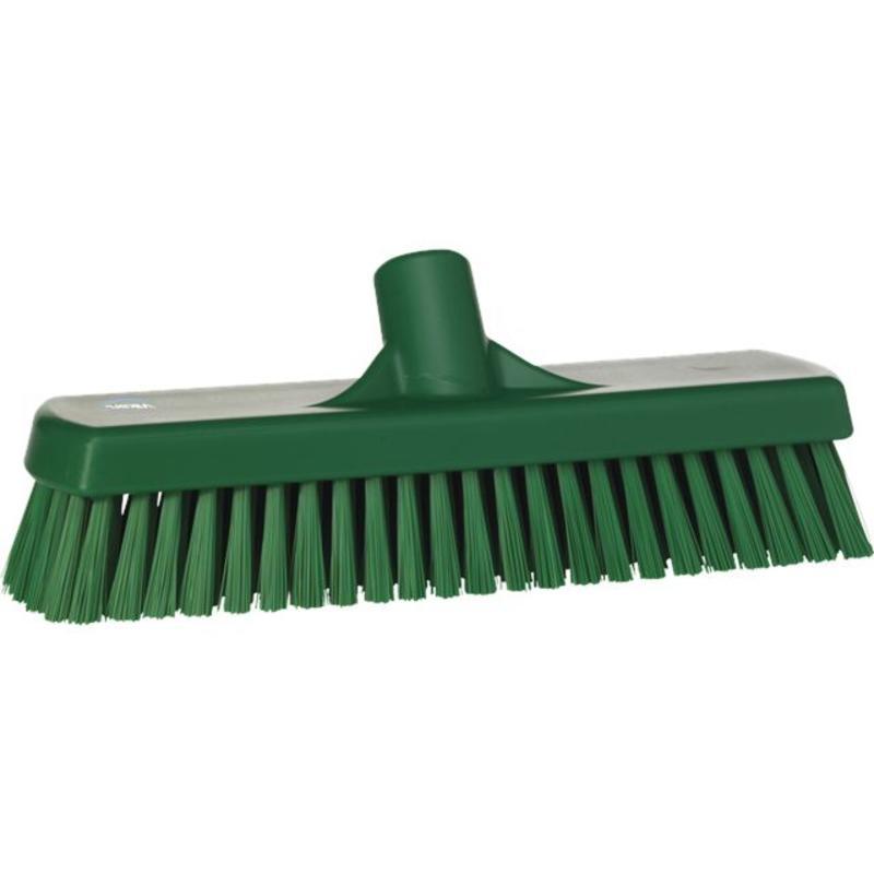 Vikan, Vloerschrobber hard, 305x110x85mm, groen
